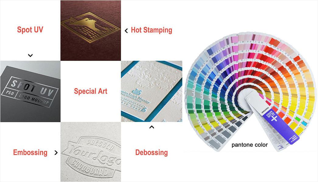 Meishi-Custom printed leaflet brochure and flyer booklet printing service-6