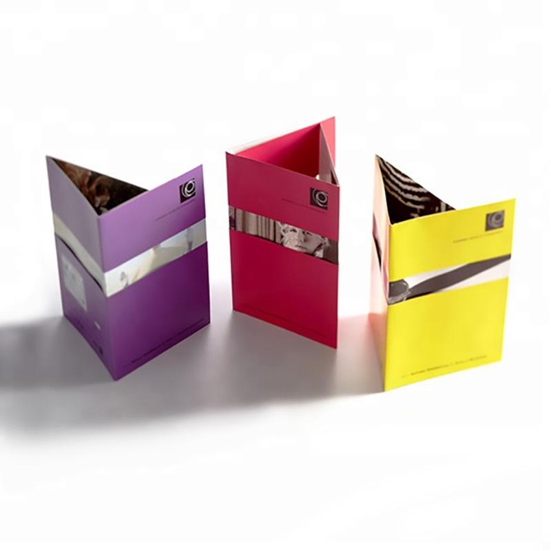 Meishi-Custom printed leaflet brochure and flyer booklet printing service-2