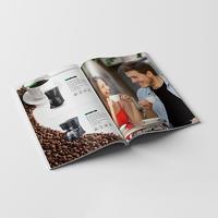Customized Factory Printed Catalog User Manual Color Brochure Printing