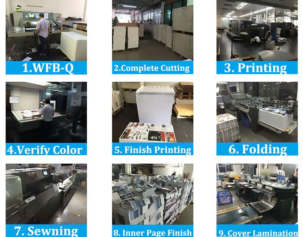 Meishi-Custom Color Books Fashion Sports Magazine Printing Service-2