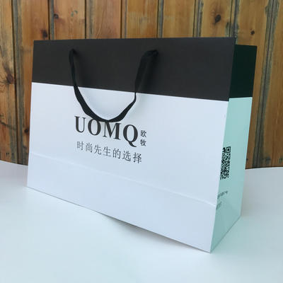 Wholesale Custom High Auality Paper Shopping Paper Bag