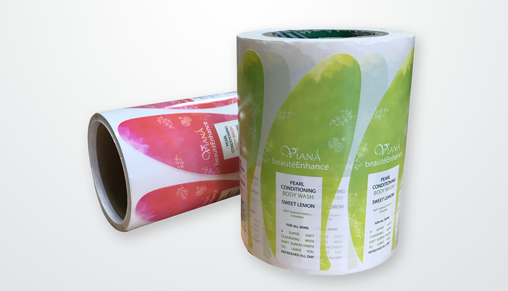 Meishi-Printed Custom Adhesive Waterproof Bath Beauty Label stickers-2