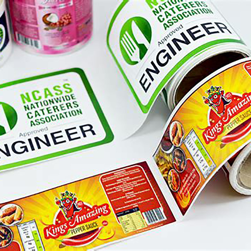 Meishi-Printing Label Sticker Customized Household Products Label Sticker-2