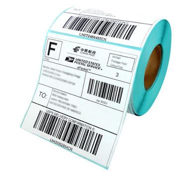 Printed custom adhesive waterproof Shipping & logistics label stickers