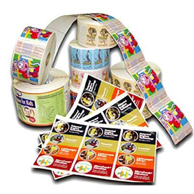 Custom printed stationery label sticker