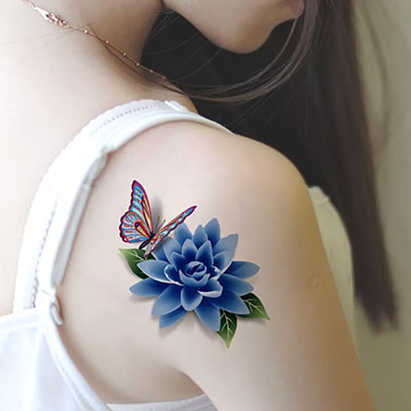 Meishi-Custom Tattoo Sticker Beautiful 3d Tattoo Temporary Tattoo Sticker-13