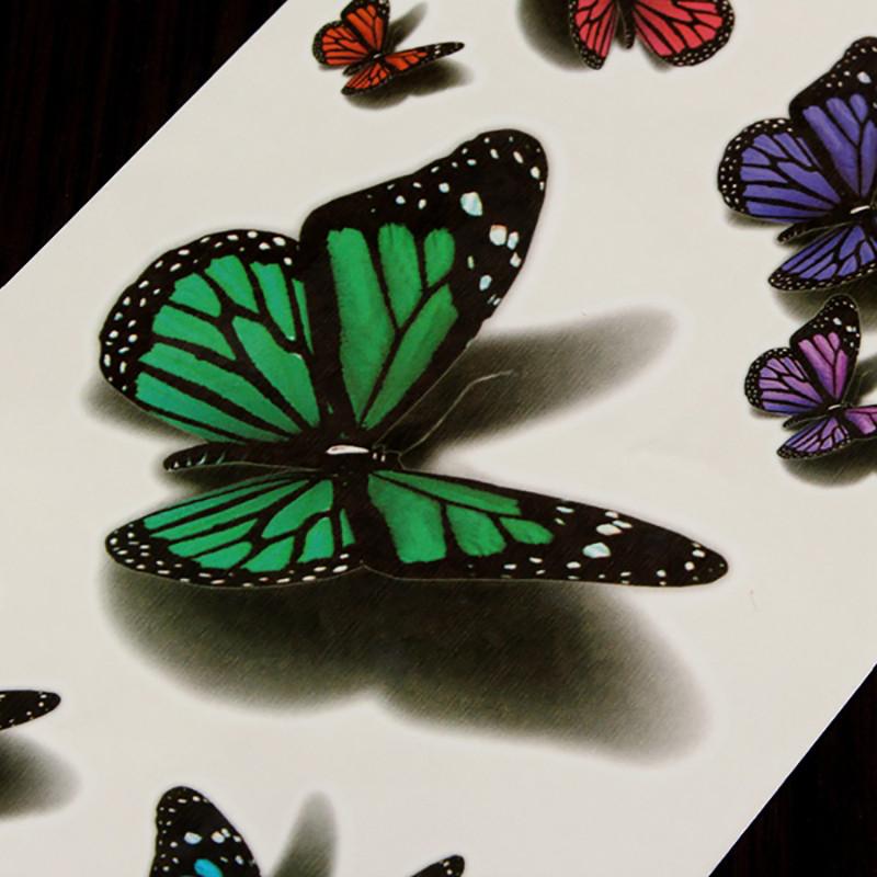 Meishi-Custom Tattoo Sticker Beautiful 3d Tattoo Temporary Tattoo Sticker-14