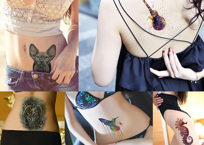 Meishi-Professional Full color water transfer tattoo Custom Fake Tattoos-1