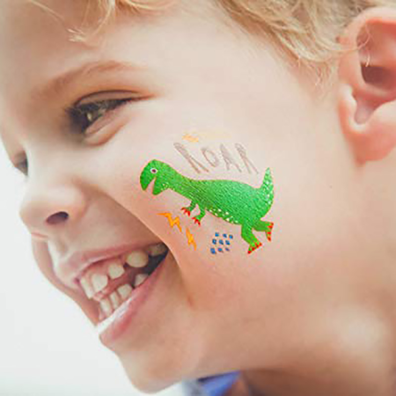 Meishi-Custom Non-toxic And Safe Temporary tattoos for kids