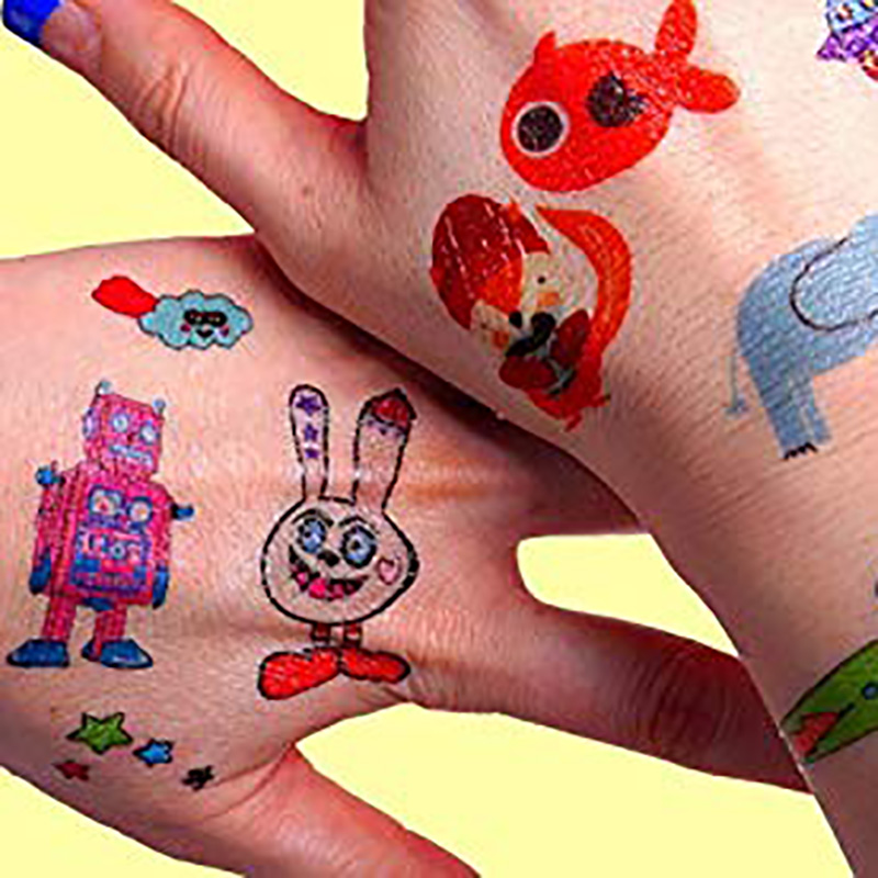 Meishi-Custom Non-toxic And Safe Temporary tattoos for kids-2