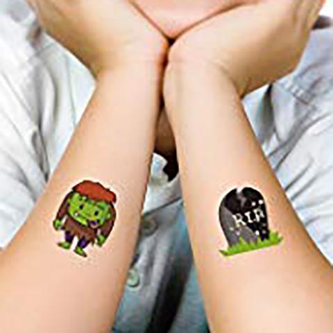 Meishi-Manufacturer Of Fluorescent glow tattoo body art flash sticker-11