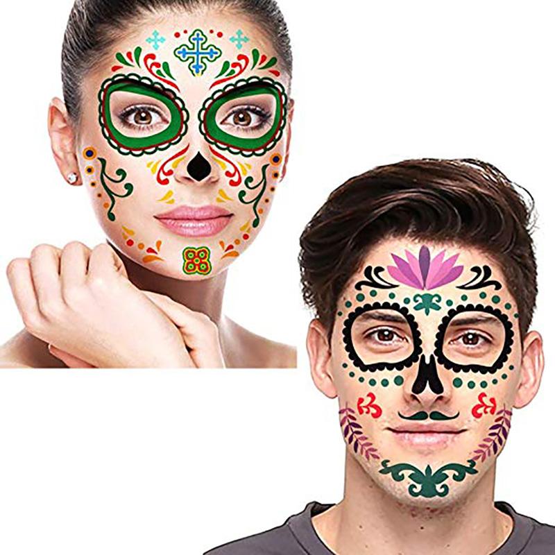 Meishi-Custom Tattoo Sticker Full Face Tattoo Mask Tattoo For All-2
