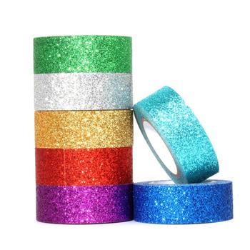 Custom printed decorative colourful DIY craft notebook washi tape