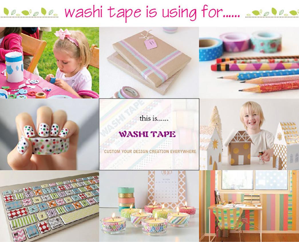 Meishi-Custom Printed Washi Tape Custom Make Washi Tape Gold Foil-4