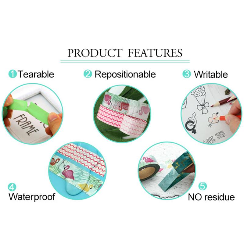 Meishi-Custom Japanese Washi Masking Paper Adhesive Tape For Sale-2