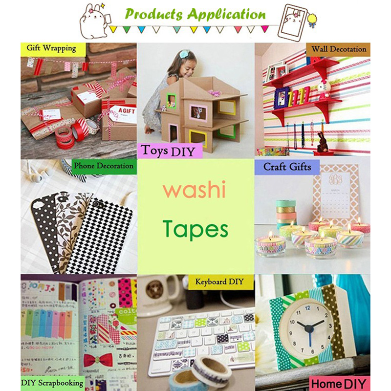 Meishi-Custom Japanese Washi Masking Paper Adhesive Tape For Sale-5