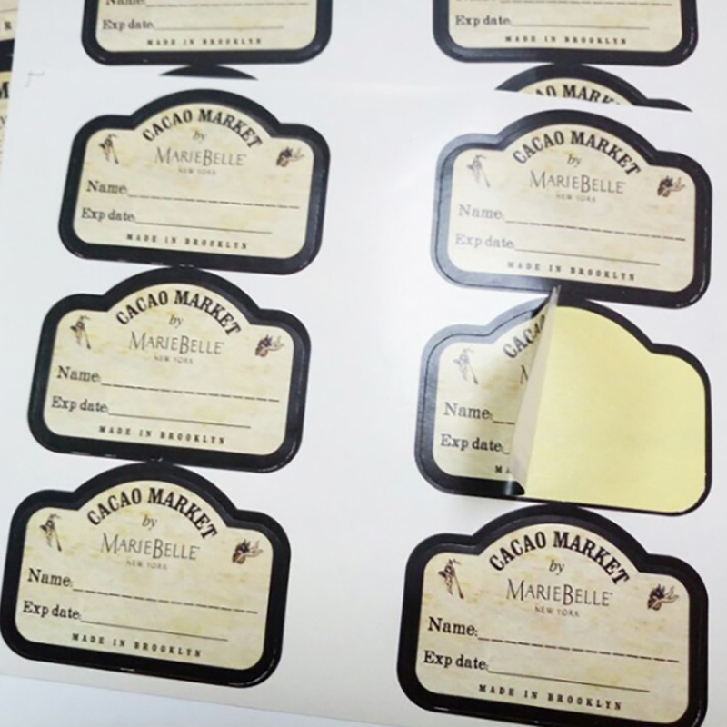 Meishi-Strong Adhesive Sticker Waterproof Bottle And Jar Sticker Labels-2