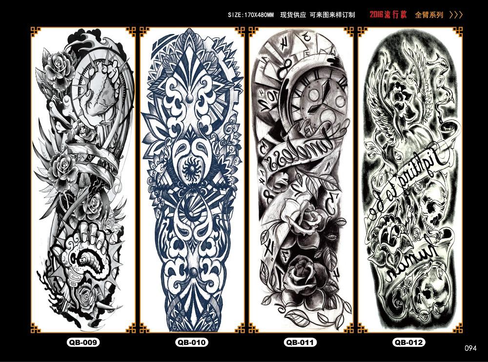 Meishi-Temporary Tattoo Halloween, Wholesale Water Transfer Armband Temporary Tattoo
