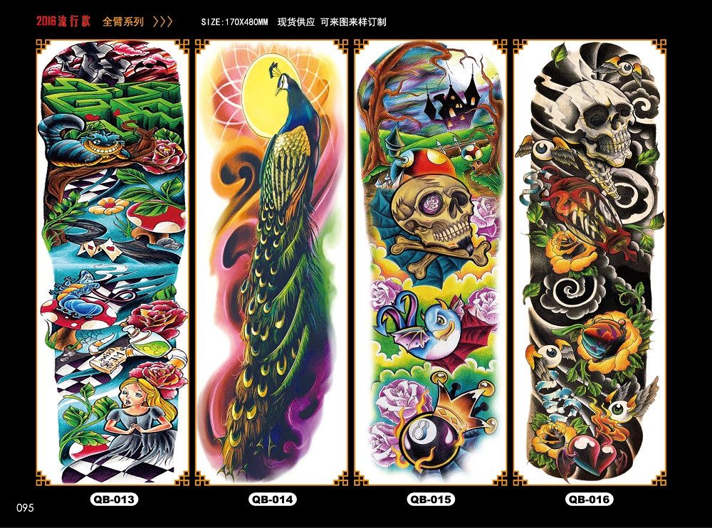Meishi-Temporary Tattoo Halloween, Wholesale Water Transfer Armband Temporary Tattoo-3