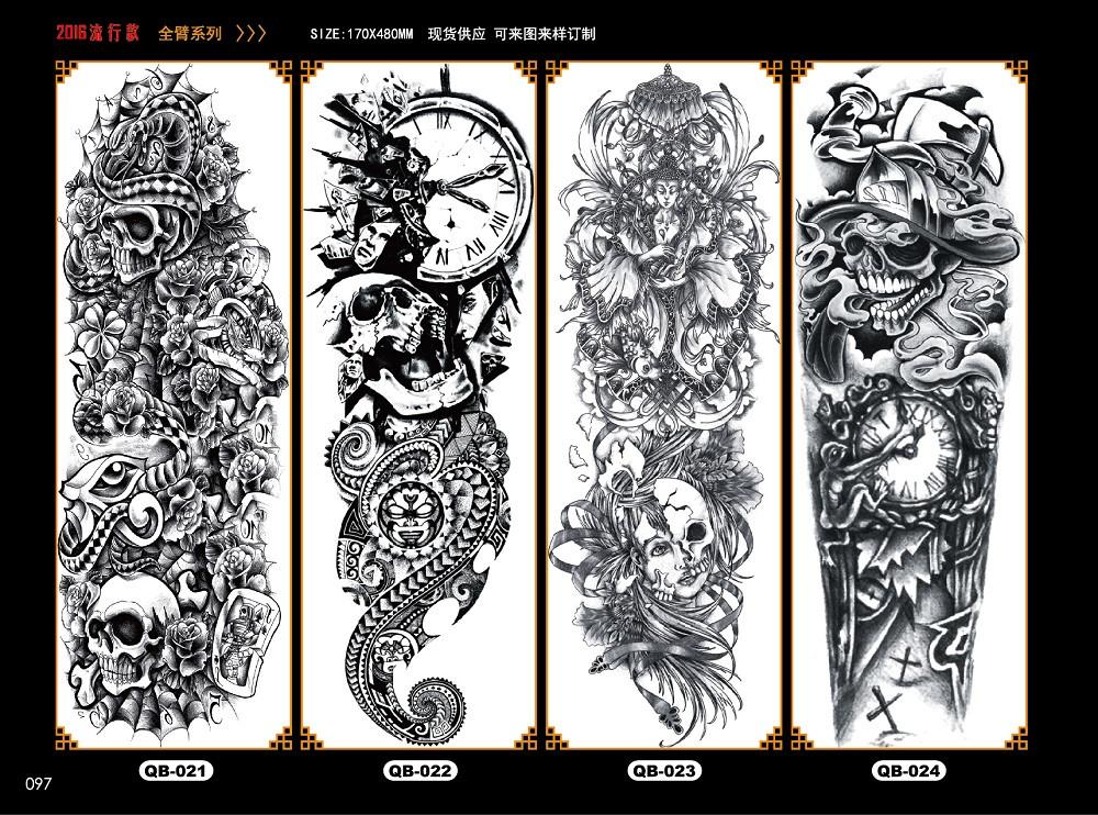 Meishi-Temporary Tattoo Halloween, Wholesale Water Transfer Armband Temporary Tattoo-5
