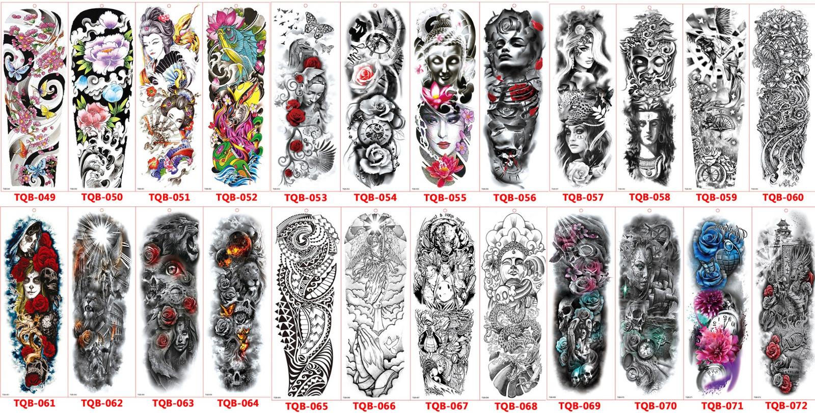 Meishi-Temporary Tattoo Halloween, Wholesale Water Transfer Armband Temporary Tattoo-18