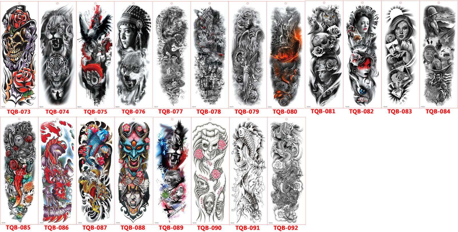 Meishi-Temporary Tattoo Halloween, Wholesale Water Transfer Armband Temporary Tattoo-19