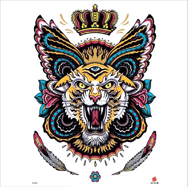 Meishi-High-quality Temporary Tattoo Printing | Full Back Temporary Tattoo For Men-3