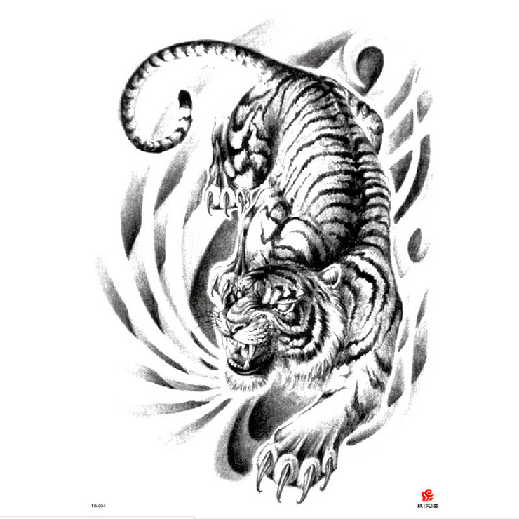 Meishi-High-quality Temporary Tattoo Printing | Full Back Temporary Tattoo For Men-5