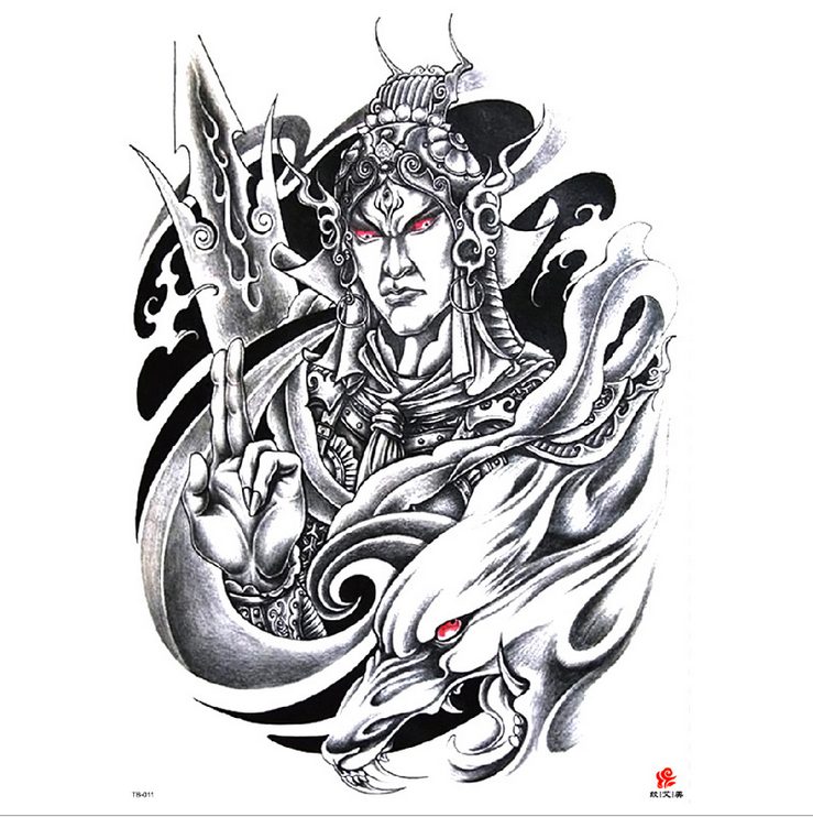 Meishi-High-quality Temporary Tattoo Printing | Full Back Temporary Tattoo For Men-13