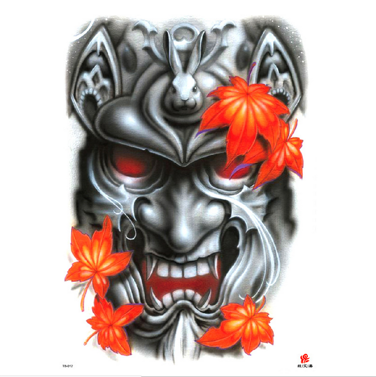 Meishi-High-quality Temporary Tattoo Printing | Full Back Temporary Tattoo For Men-12
